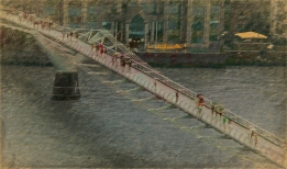 2018-19-print-rnd2-RAINY DAY ON THE BRIDGE by Ros Wood