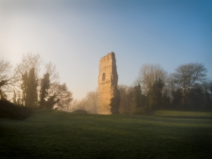 2018-19-print-rnd3-DAWN AT BRAMBER CASTLE by Stephen Yates
