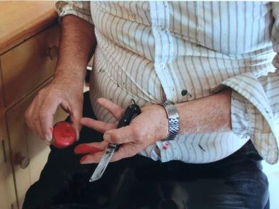 2019-20 PRINT rnd1 - KNIFE by George Redgrave