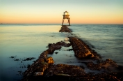 2019-20 PRINT rnd1 - SUNSET AT DOVERCOURT by Steve Yates