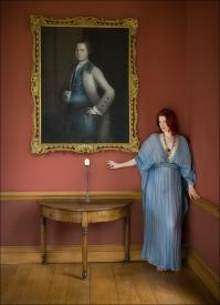 2019-20 PRINT rnd1 - THE BLUE DRESS by Paul Holroyd