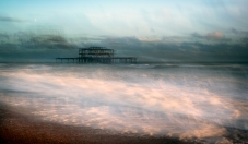 2019-20 PRINT rnd2 - FADING STORM WEST PIER by Steve Yates