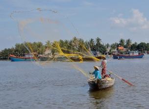 2019-20 PRINT rnd3 - FISHING HOI AN VIETNAM by Edwin Cowley