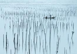2019-20 PRINT rnd3 - FISHING IN HALONG BAY VIETNAM by Edwin Cowley