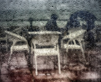 2019-20 PRINT rnd3 - SEAFRONT CAFE ABSTRACT by Graham Wilcock